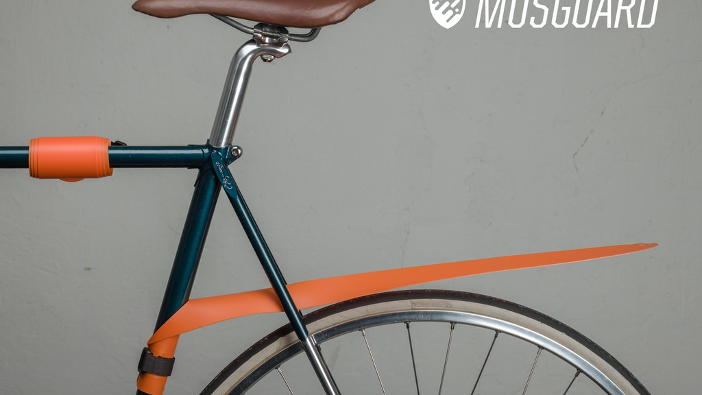 MUSGUARD: A removable, rollable bicycle fender project video thumbnail