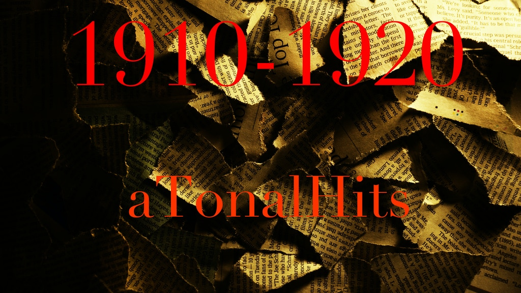 "aTonalHits plays ""1910-1920"" project video thumbnail"