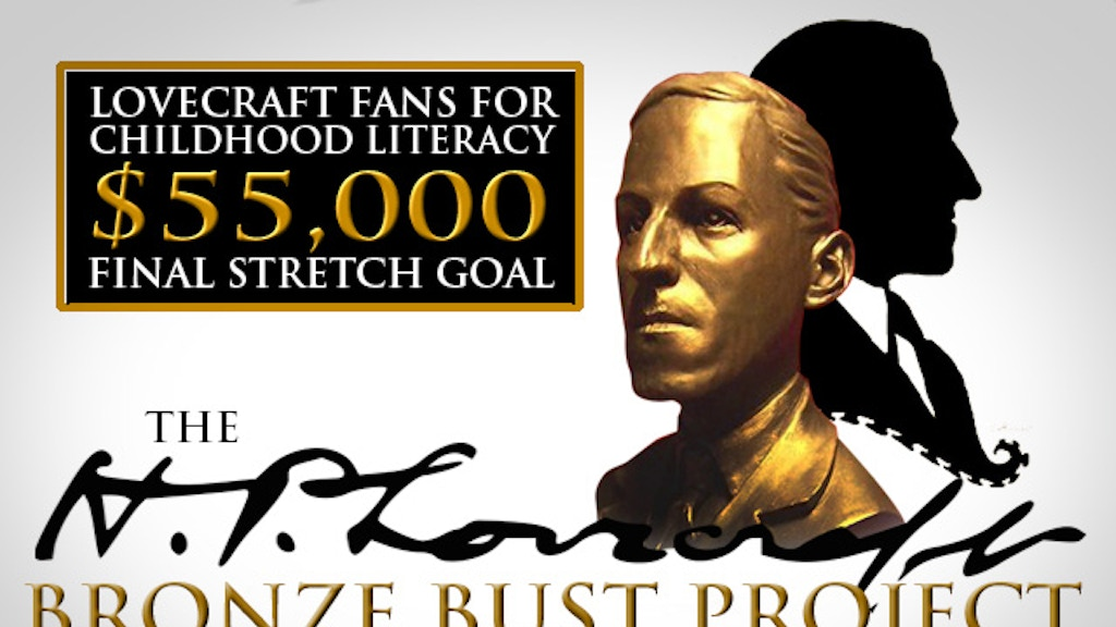 The H.P. Lovecraft Bronze Bust Project project video thumbnail