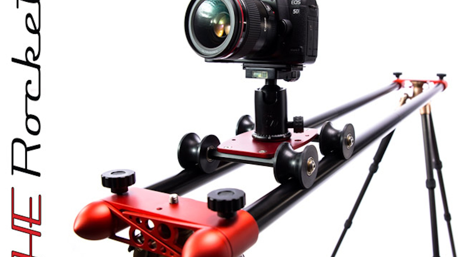 Get SUPER SMOOTH dolly shots up to 10 feet long with this easy to use slider that compacts down to the size of a shoe box!