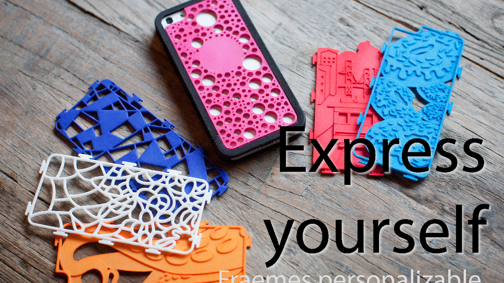 Fraemes: Personalizable, swappable, 3D-printed iPhone cases project video thumbnail
