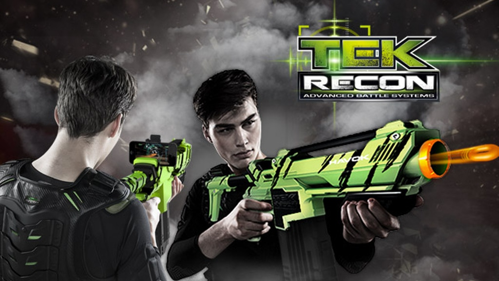 Tek Recon-Soft Projectile Blaster with FPS Online Game Play project video thumbnail
