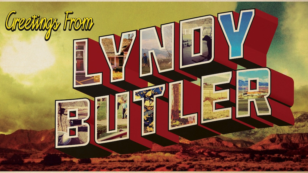 "Lyndy Butler is ""GOING PLACES!"" project video thumbnail"