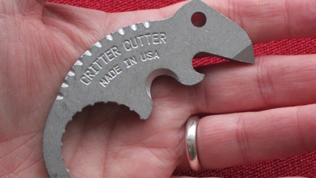 Critter Cutter Bottle Opener - Key Chain - Box Cutter project video thumbnail