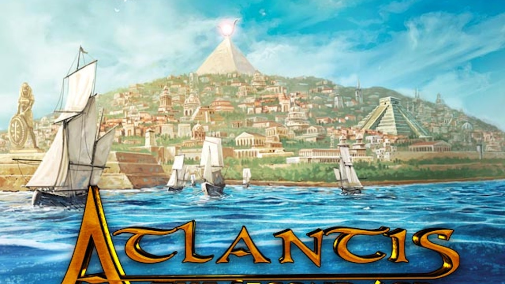 Atlantis: The Second Age RPG project video thumbnail