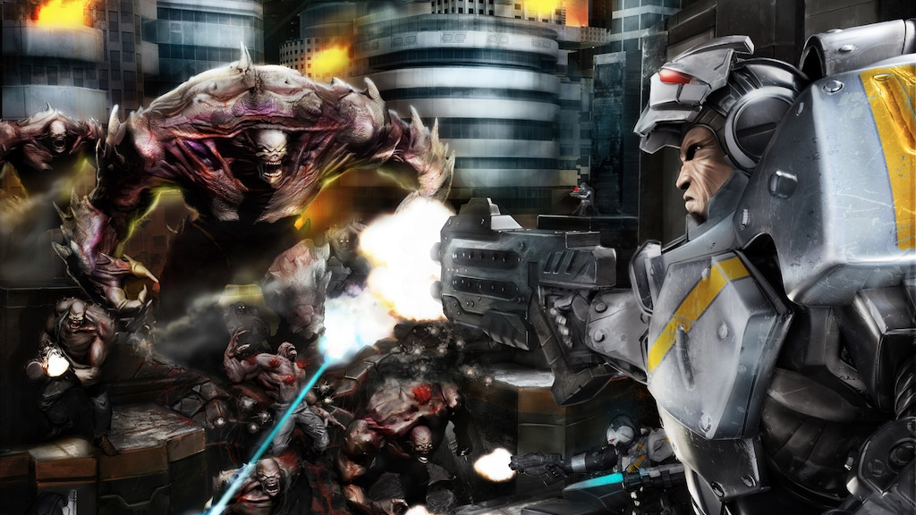 Deadzone: The Sci-fi Miniatures Board Game project video thumbnail