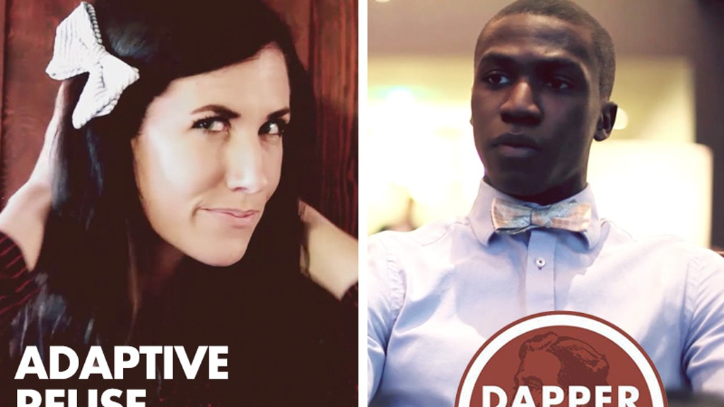 Dapper+Dash: Adaptive Reuse Bow Ties and Neckties project video thumbnail