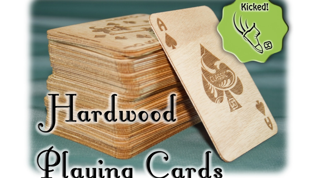 Hardwood Playing Cards project video thumbnail