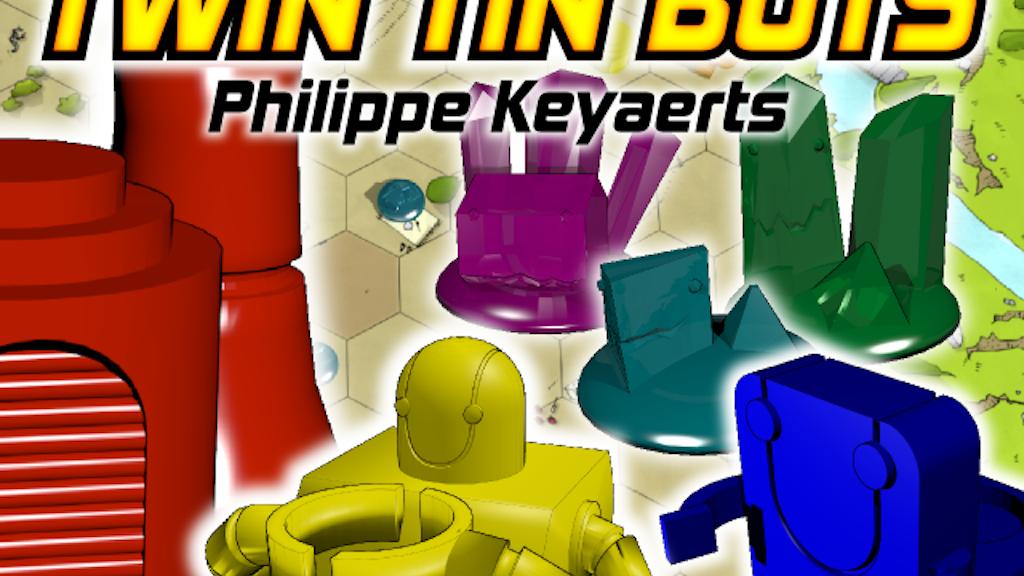 Twin Tin Bots Reboot project video thumbnail
