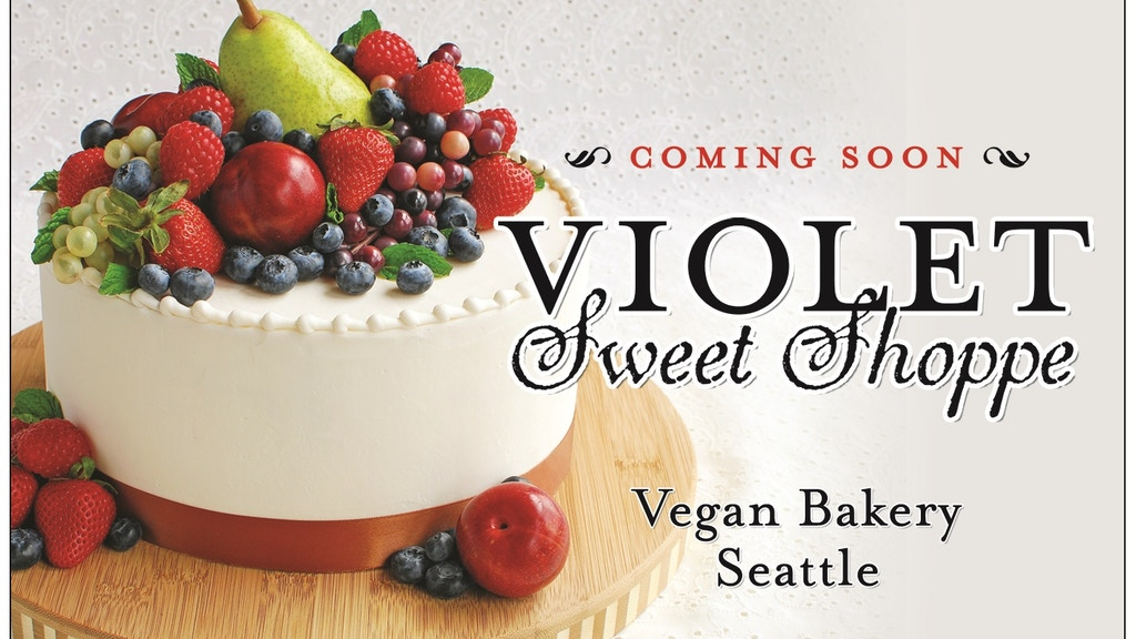 A new Vegan bakery is opening in Seattle! project video thumbnail
