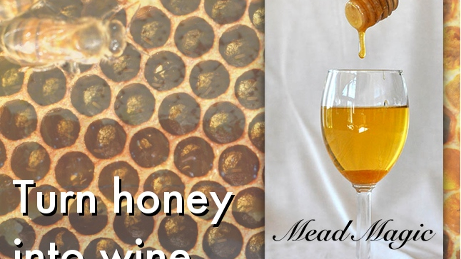 Mead Magic kits contain almost everything you need to make the world's oldest alcoholic beverage - just add water!