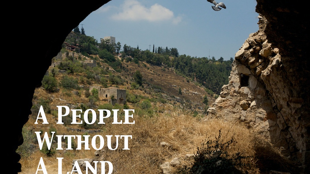 A People Without A Land project video thumbnail