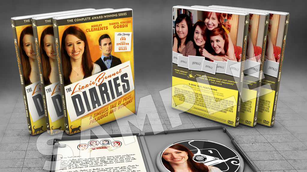 The Lizzie Bennet Diaries DVD...and More! project video thumbnail