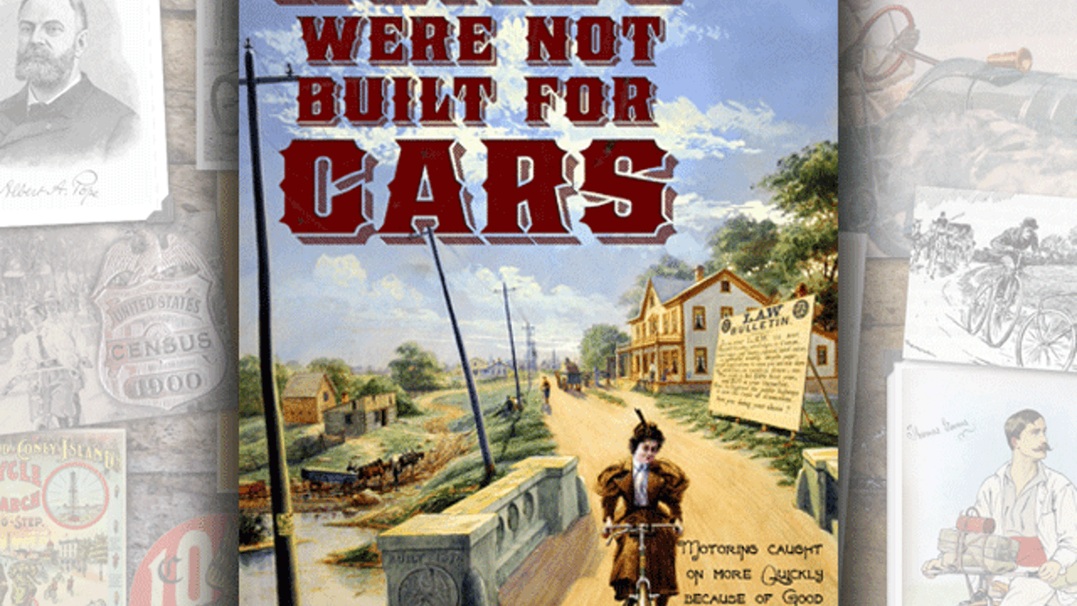 Roads Were Not Built For Cars book & Kindle & iPad versions by