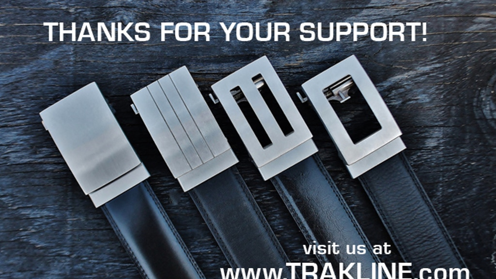 TRAKLINE:  a new kind of belt for men project video thumbnail
