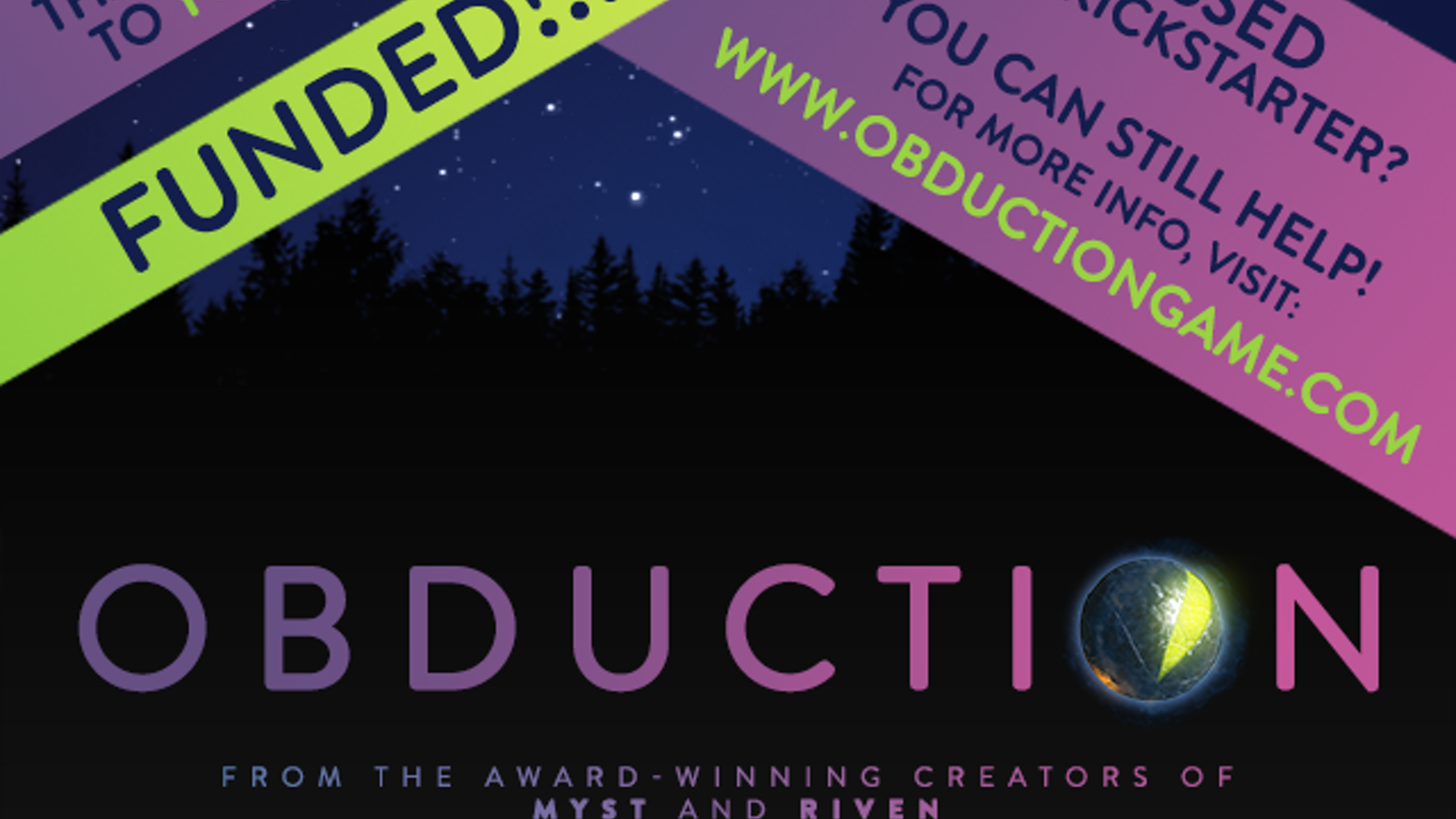 Obduction by Cyan, Inc  — Kickstarter