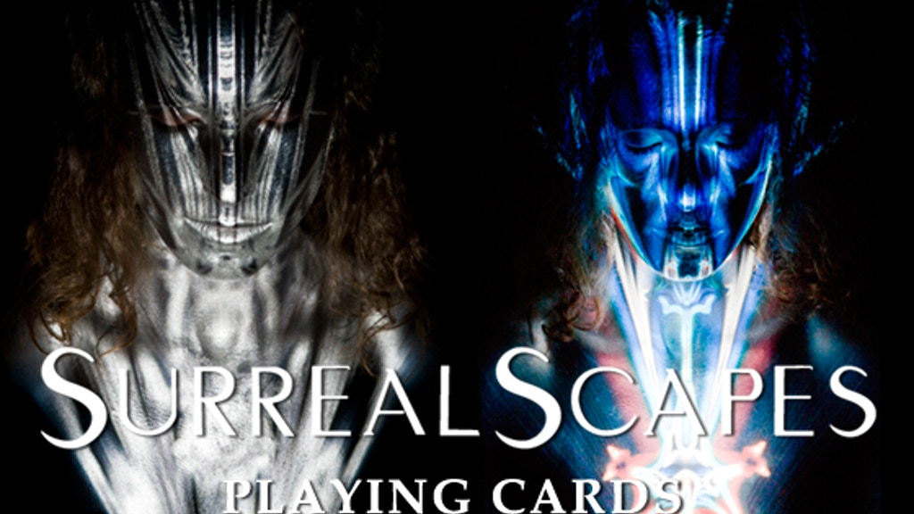 Project image for SurrealScapes Body Art Photography Playing Card Deck REDUX