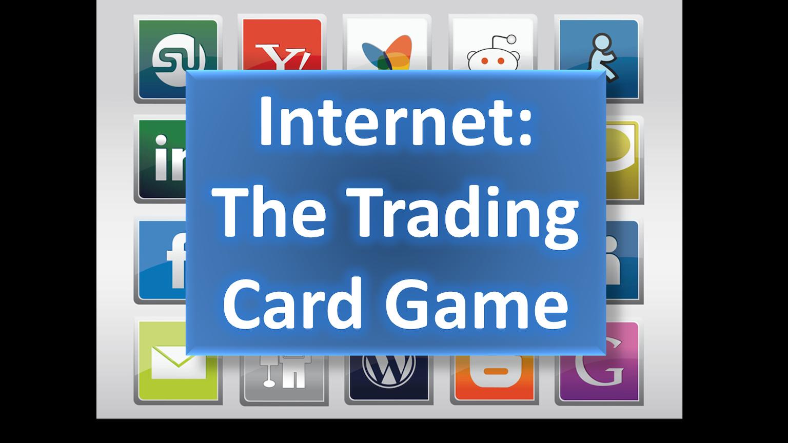 internet the trading card game by eric calisto kickstarter. Black Bedroom Furniture Sets. Home Design Ideas