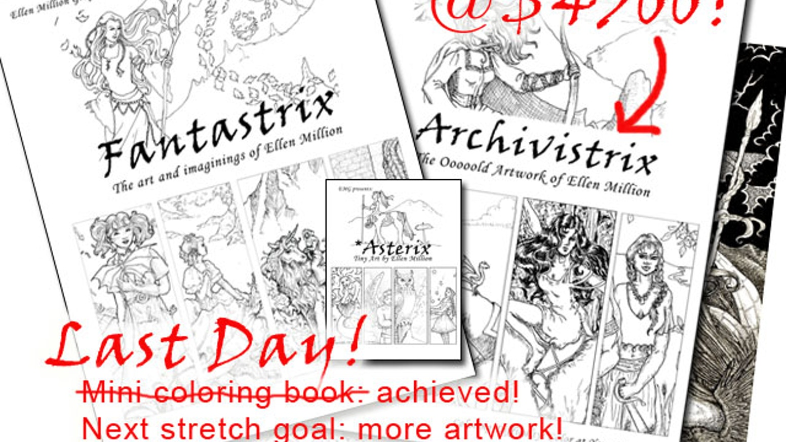 Fantastrix, A Coloring Book For (So-Called) Grown-ups by Ellen ...