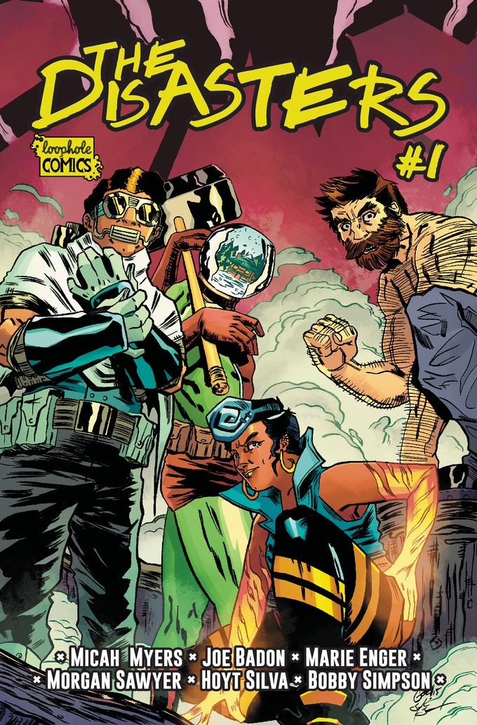 Main Cover by Paul Gori and Colored by Josh Jensen