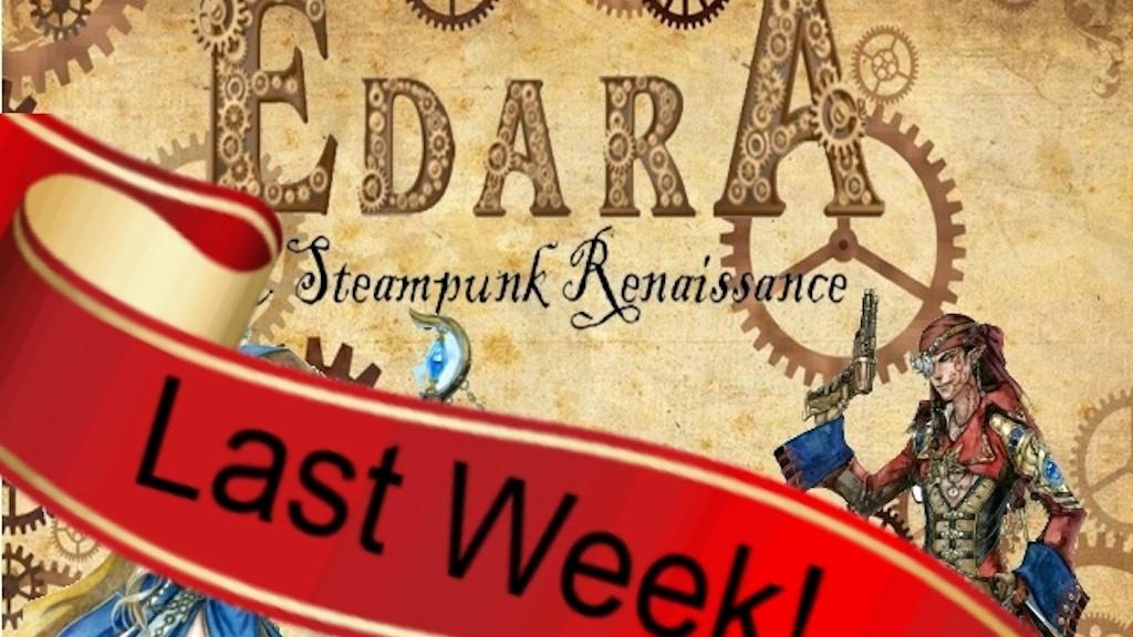 Edara: A Steampunk Renaissance Tabletop RPG project video thumbnail