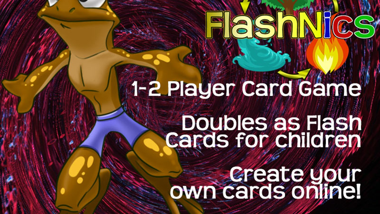 Casual Card Game That Doubles As Educational Tool Flashnics By
