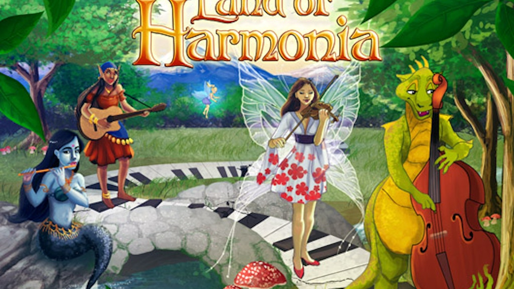 Land of Harmonia: Book and Card Game project video thumbnail