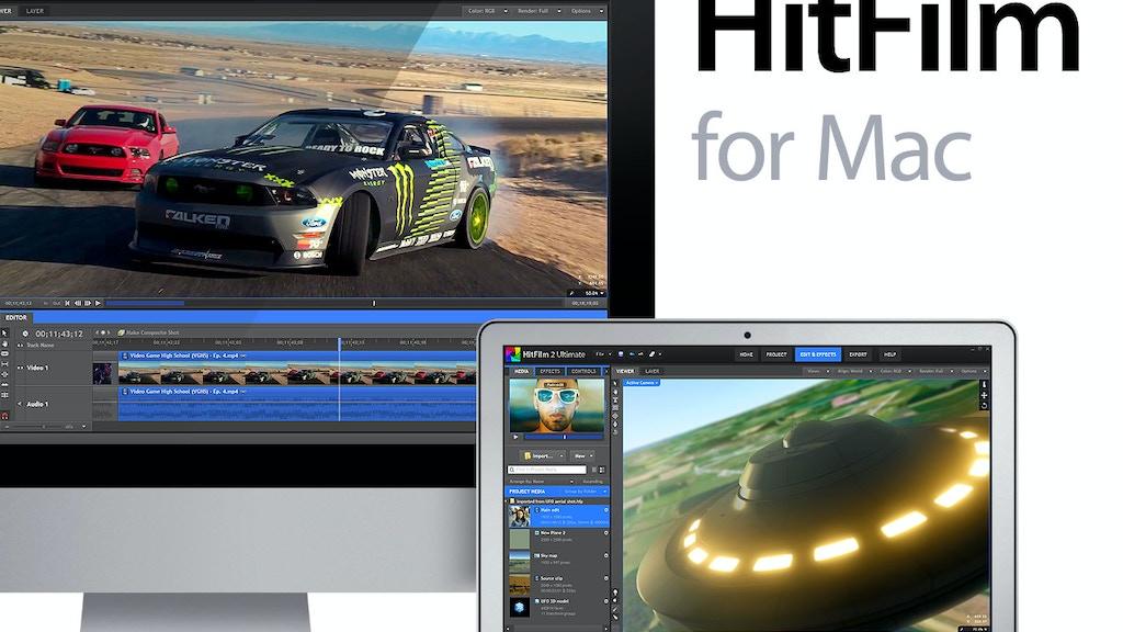 HitFilm for Mac project video thumbnail