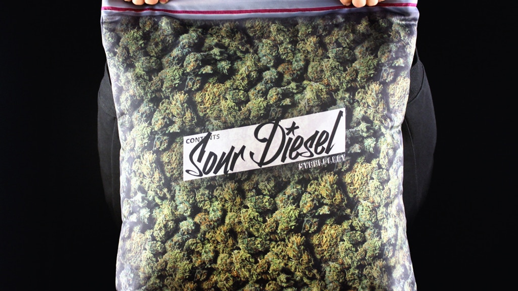 Giant Stash Pillowcase - Plus size ziplock of cannabis project video thumbnail