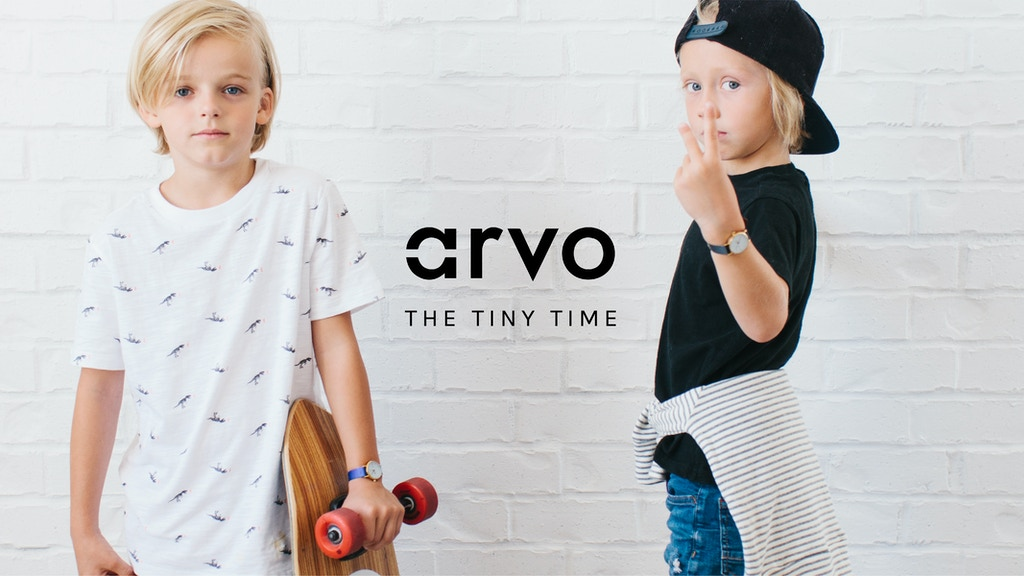 Arvo - The Tiny Time Watch project video thumbnail