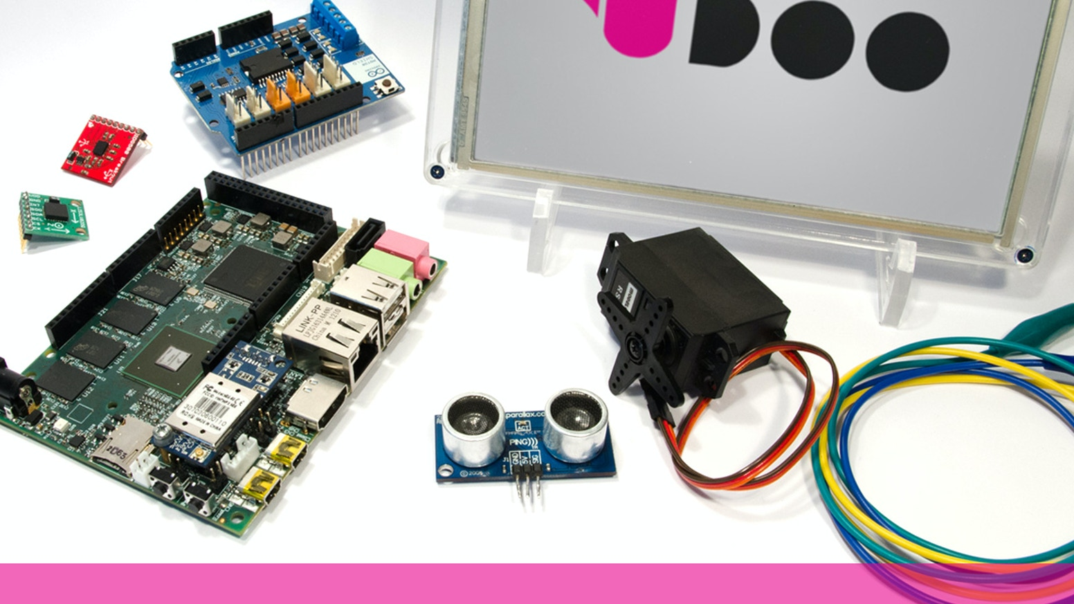 UDOO takes your DIY projects to the next level and it's a powerful tool for education and creativity.