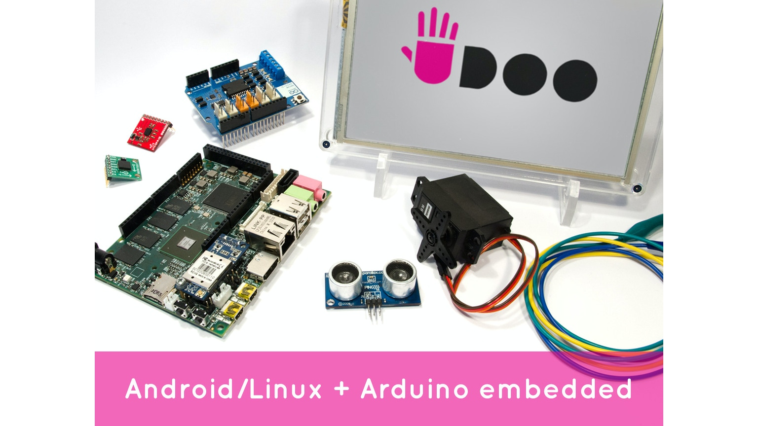 Udoo android linux arduino in a tiny single board