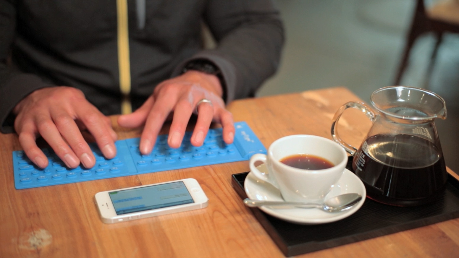 myType™ Pocketable Bluetooth Keyboard for Phones & Tablets by myType