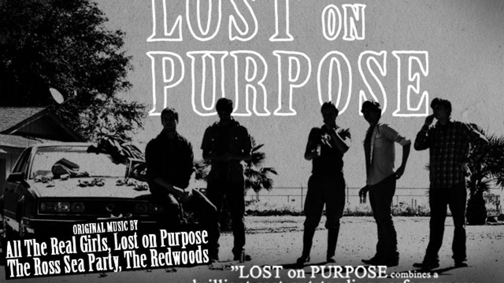 Lost on Purpose project video thumbnail