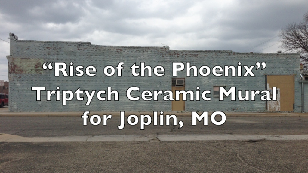 Rise of The Phoenix: Triptych Ceramic Mural for Joplin MO. project video thumbnail