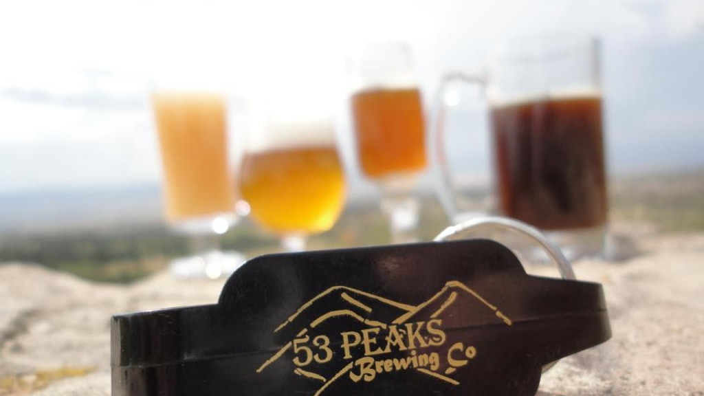 53 Peaks Brewing Company: Reach for the Peaks! project video thumbnail