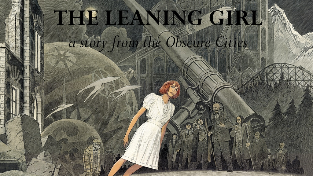 The Leaning Girl Translated Graphic Novel Project project video thumbnail