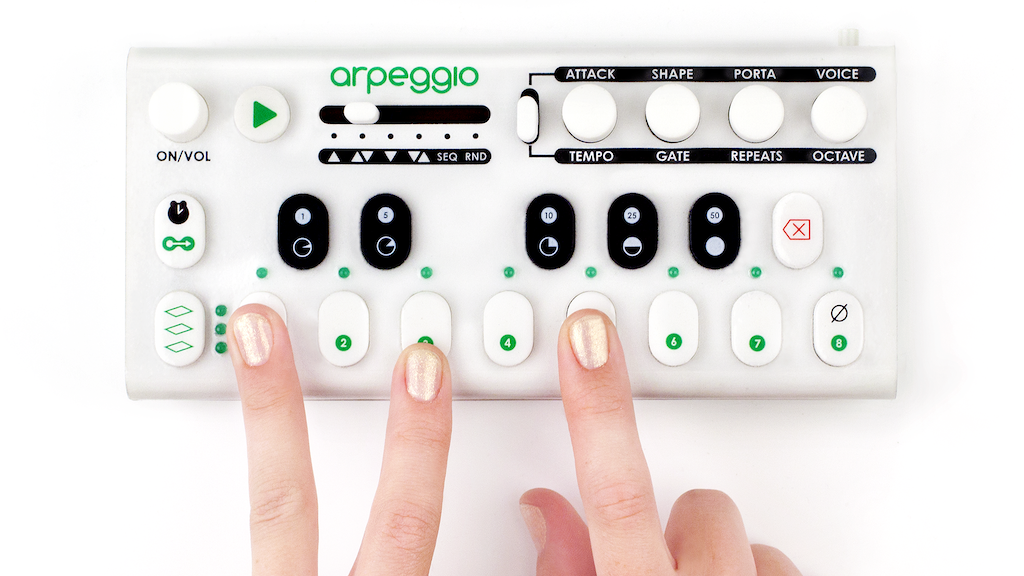 Arpeggio: The Portable Arpeggiator, Sequencer, and Synth project video thumbnail