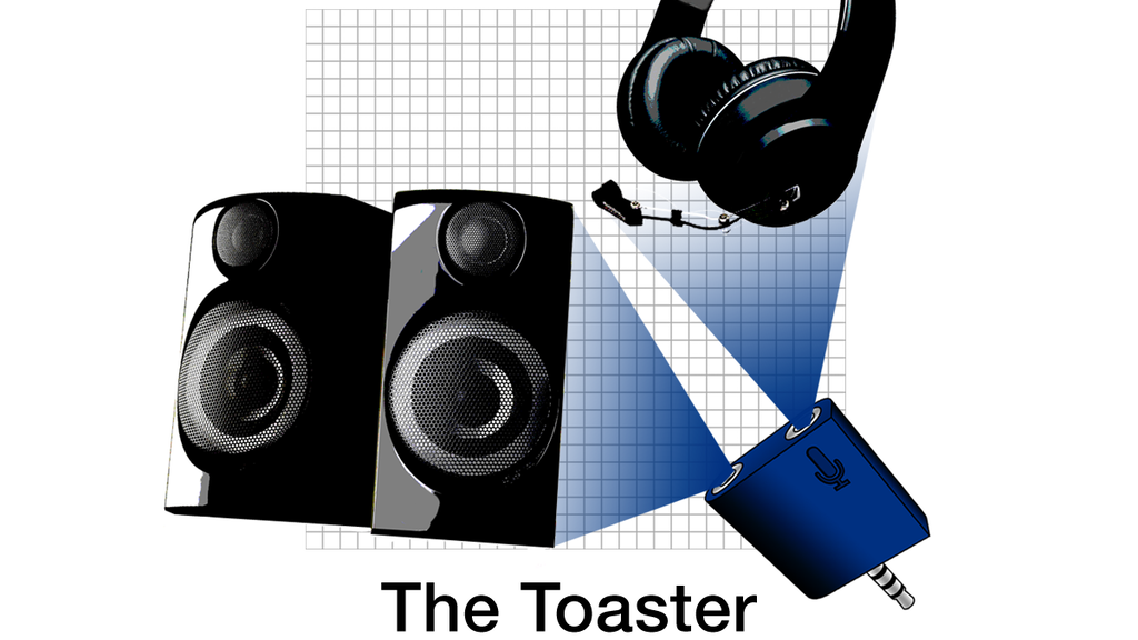 The Toaster - Mic-enabled Mobile DJ Audio Splitter project video thumbnail