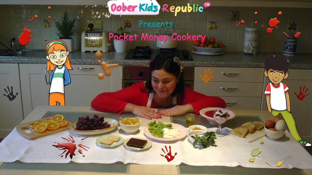 A kids' guide to good & fast food: Pocket Money Cookery project video thumbnail