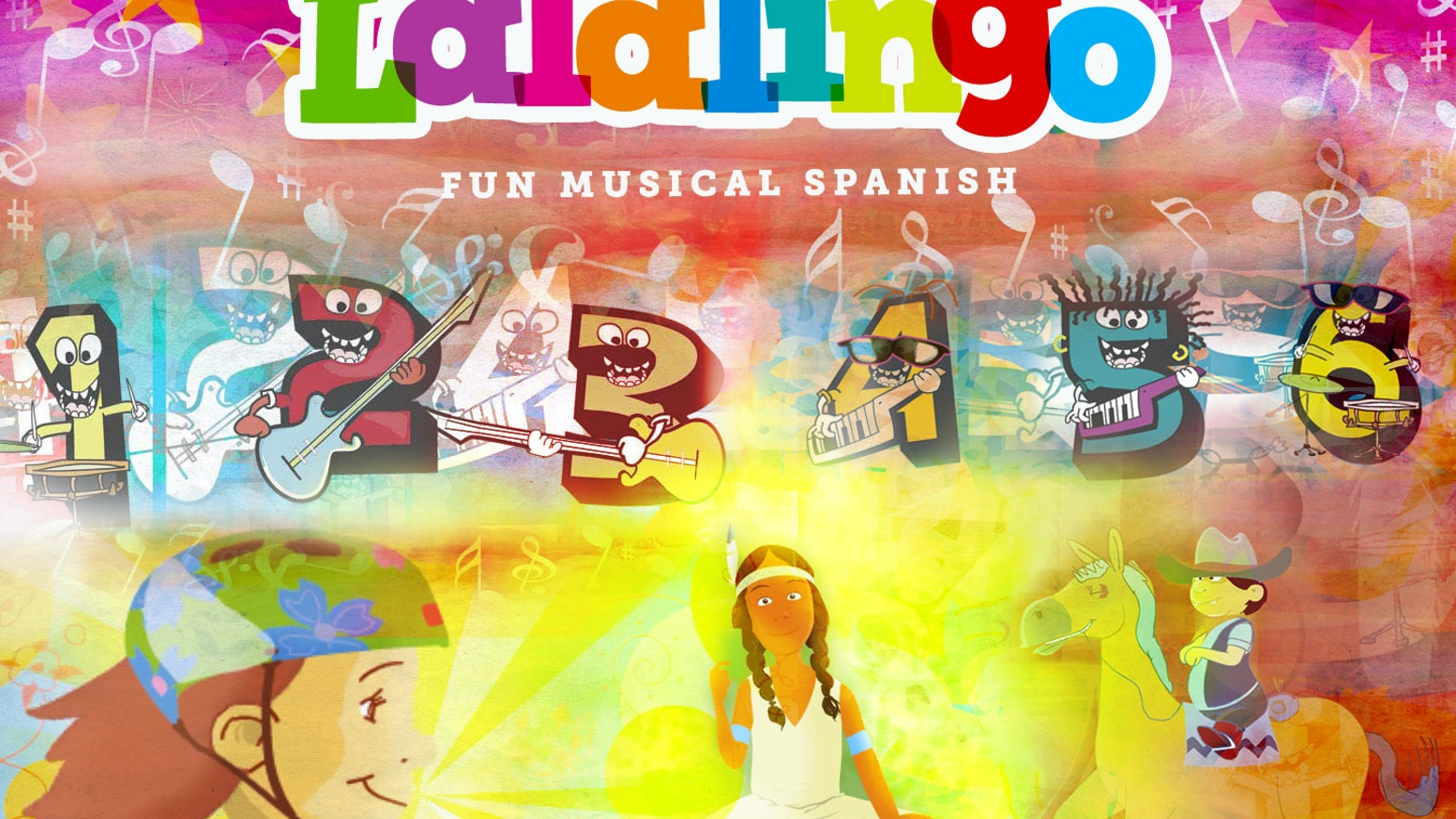 Lalalingo! animated music videos to learn Spanish  by Cesar