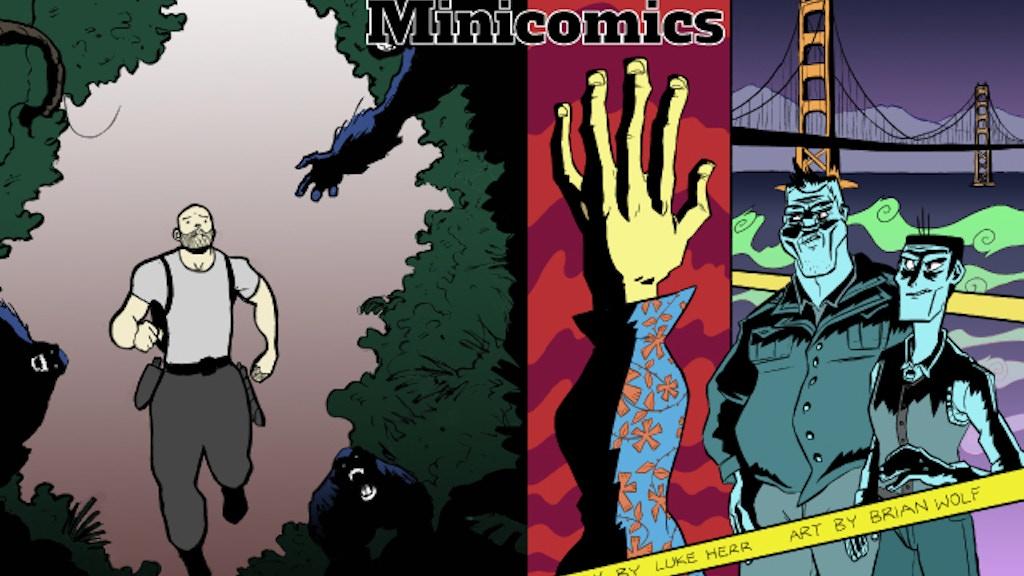 Turtle Run and ERAS: Fung MiniComics project video thumbnail