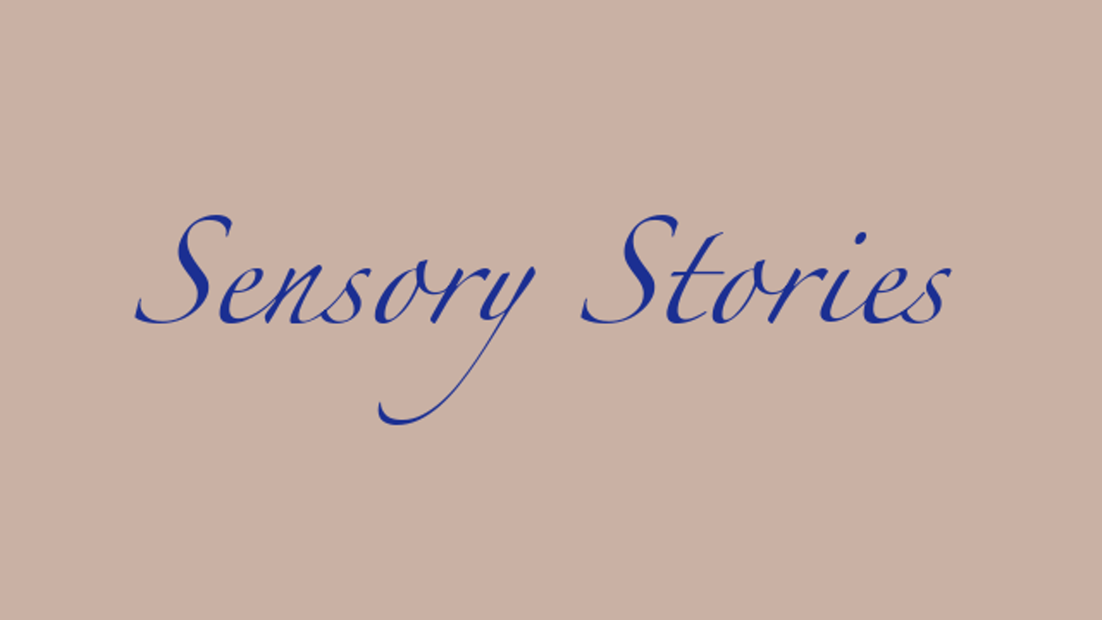 Telling a Sensory Story is unlike sharing a typical story. Told in person they engage, include, fascinate and delight everyone.