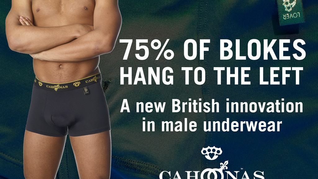 75% of Men Hang Left: Time for a British Innovation in Pants project video thumbnail