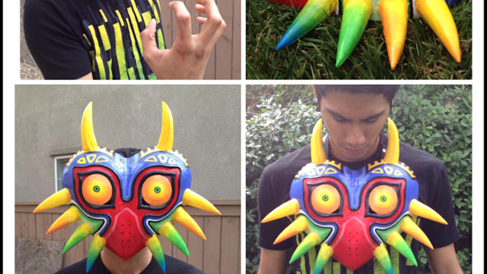 zelda majora s mask reproductions by gabriel tafoya kickstarter