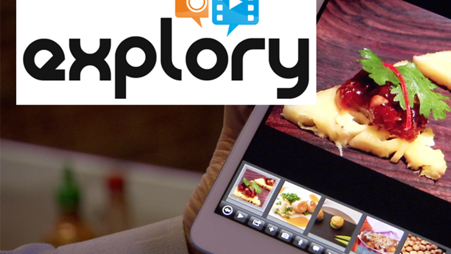 Explory - A mobile storytelling app by the creators of Flash