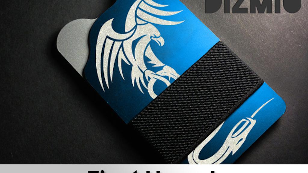 Dizmio Wallet: Slim, Small, Minimal - RFID Blocking Wallet project video thumbnail