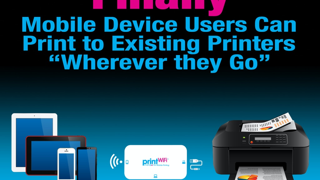 printWiFi - Upgrades Printer for WiFi Mobile Device Printing project video thumbnail