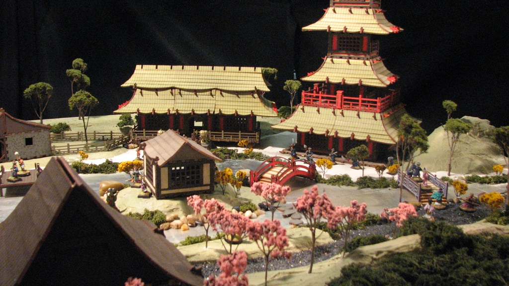 East Asian Village for 28mm Gamers project video thumbnail