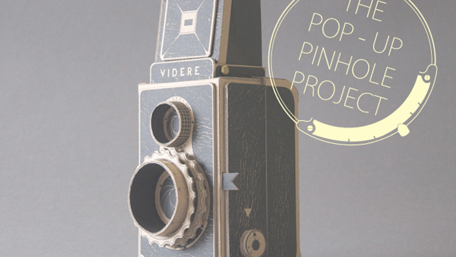 Make your own medium format camera and learn about pinhole photography in style!